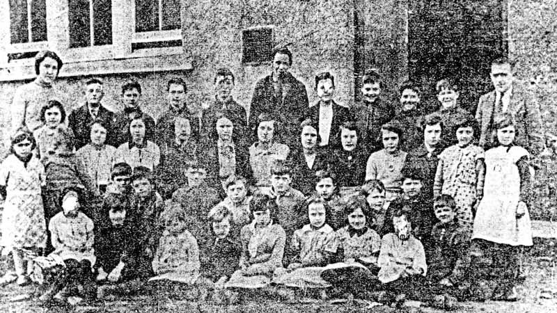 Cromore School 1932