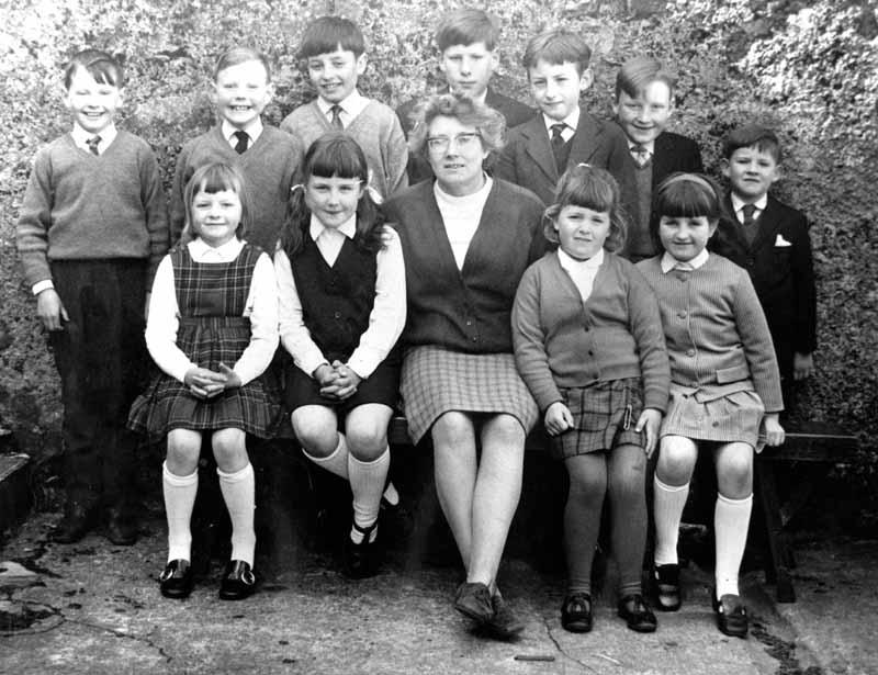 Cromore School 1972
