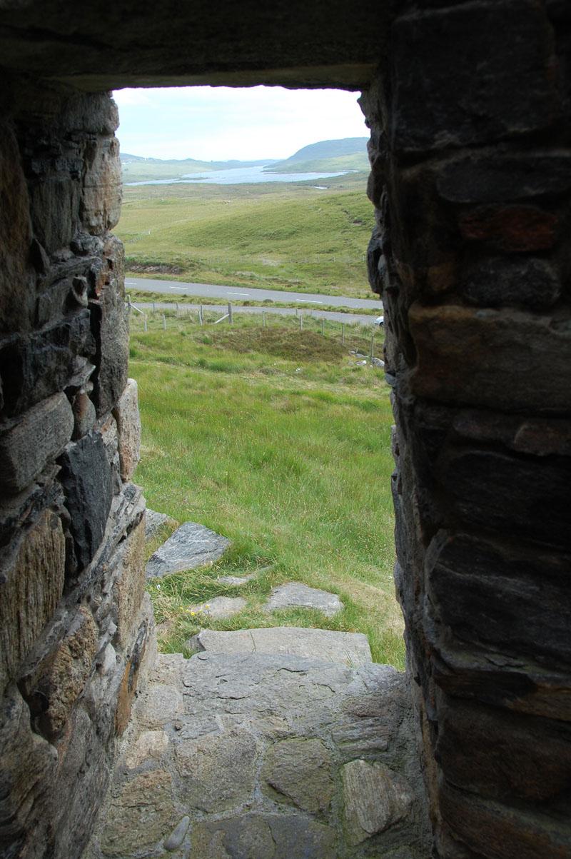 Looking towards Loch Erisort from the Deer Park Raiders cairn