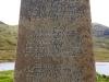 Seaforth Castle Monument inscription