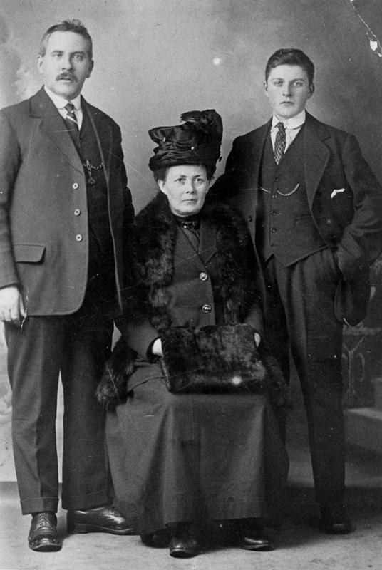 James Macmillan and family
