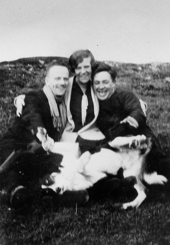 James Macleod, his wife Mary and John Macleod