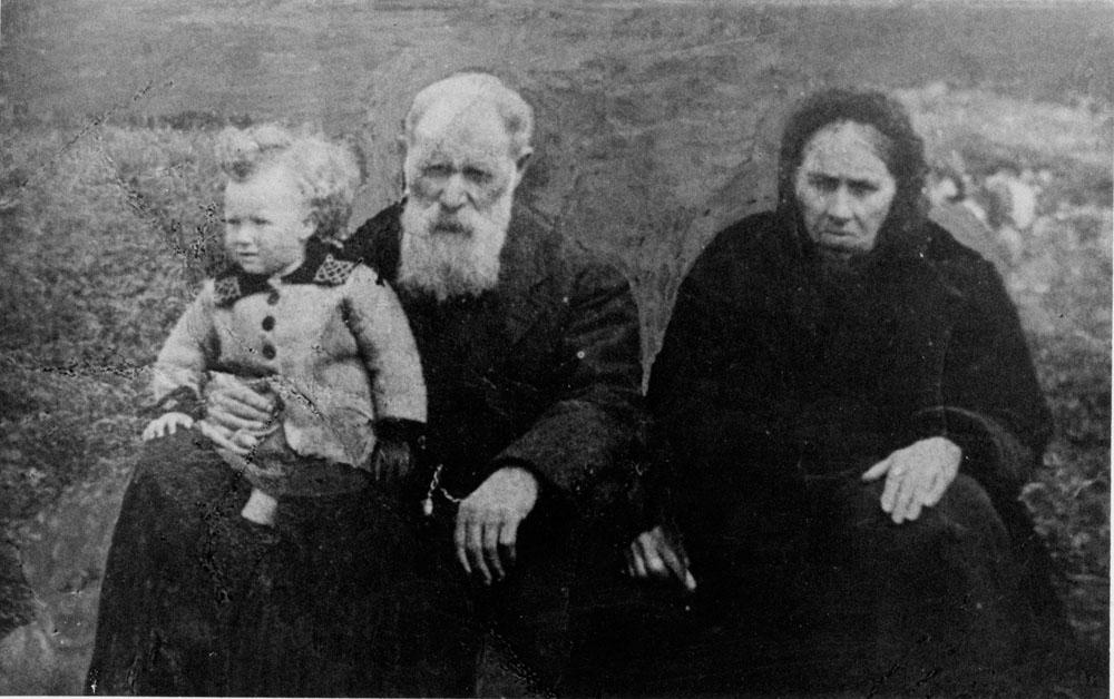 Alexander Macdonald and his wife Bella, Habost