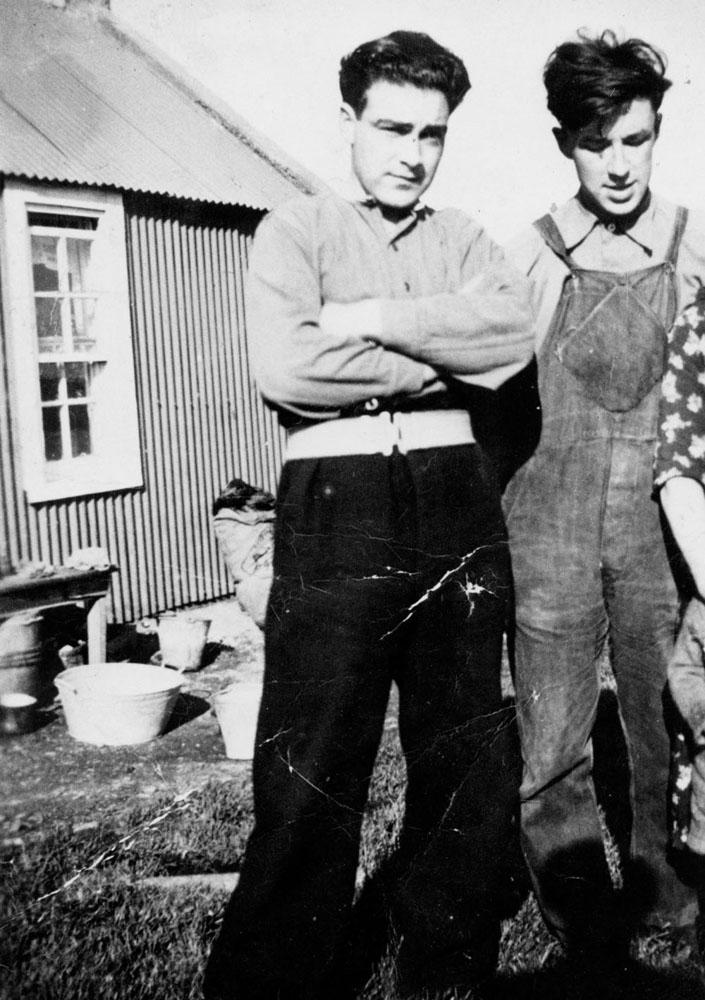 Donald John and Robert