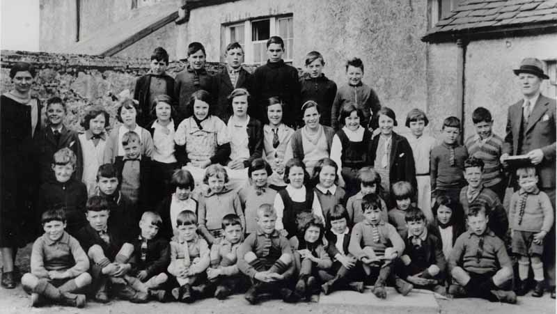 Kershader School Photo 1936