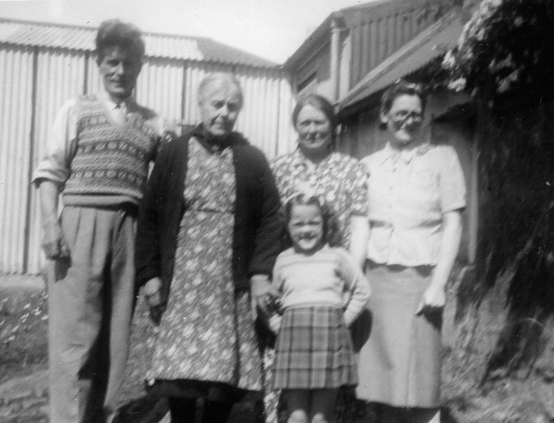 Calum Morrison Isabella matheson Christina Macphail Marina Morrison and mother Ina Morrison