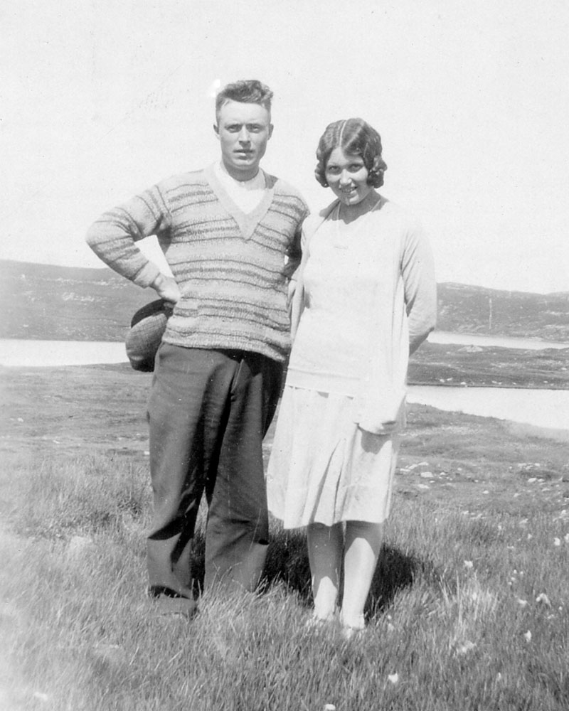Kenneth Matheson and sister Mary