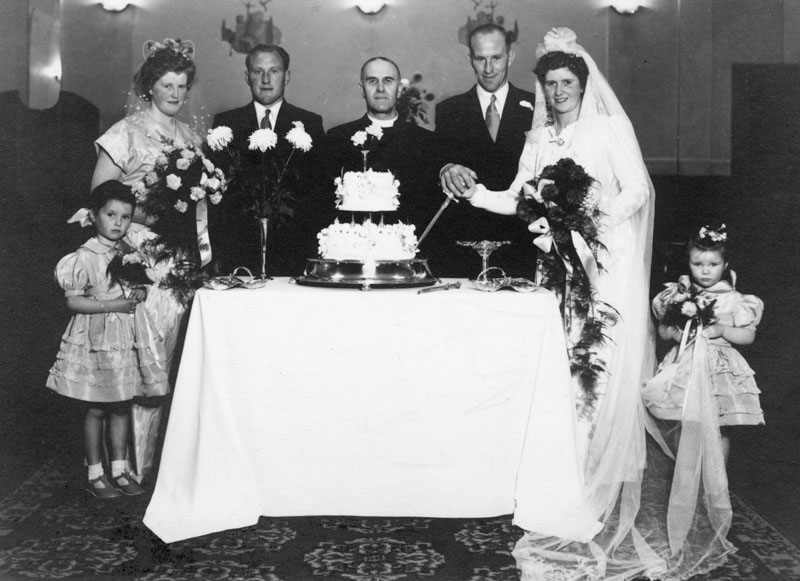 Wedding of Duncan Maclennan 18 Marvig and Marybelle Matheson 15Gravir
