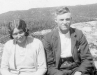 Mary Matheson with brother Duncan 15 Gravir