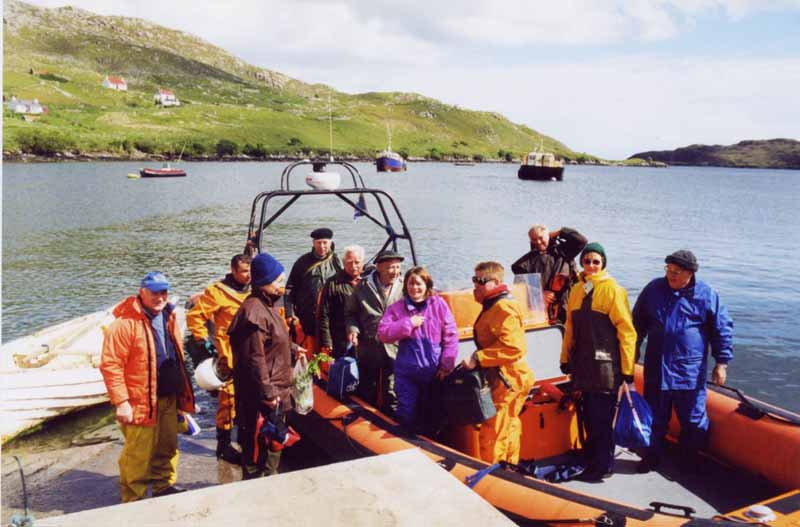 Group on Boat