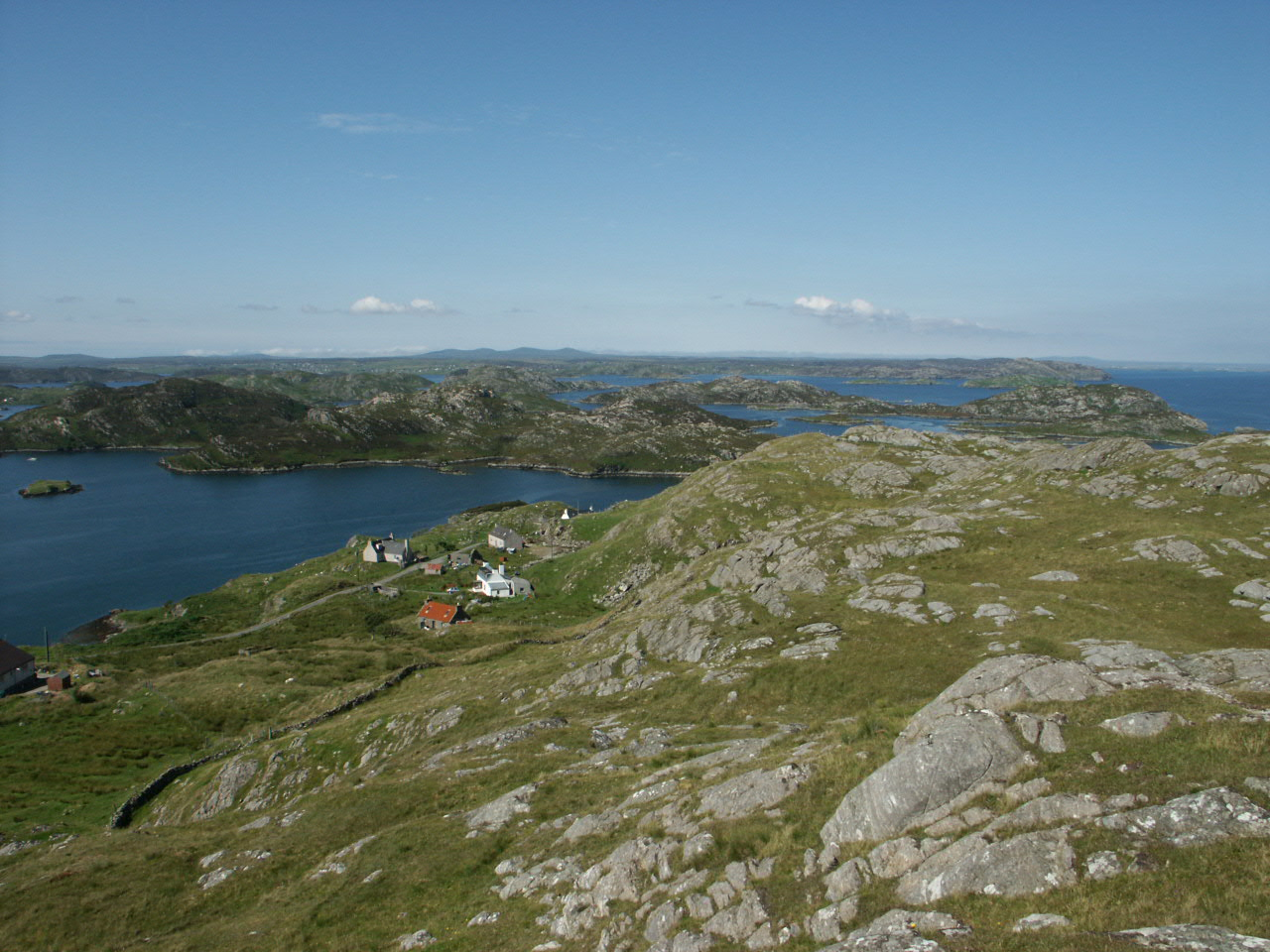 Above the Southside of Marvig