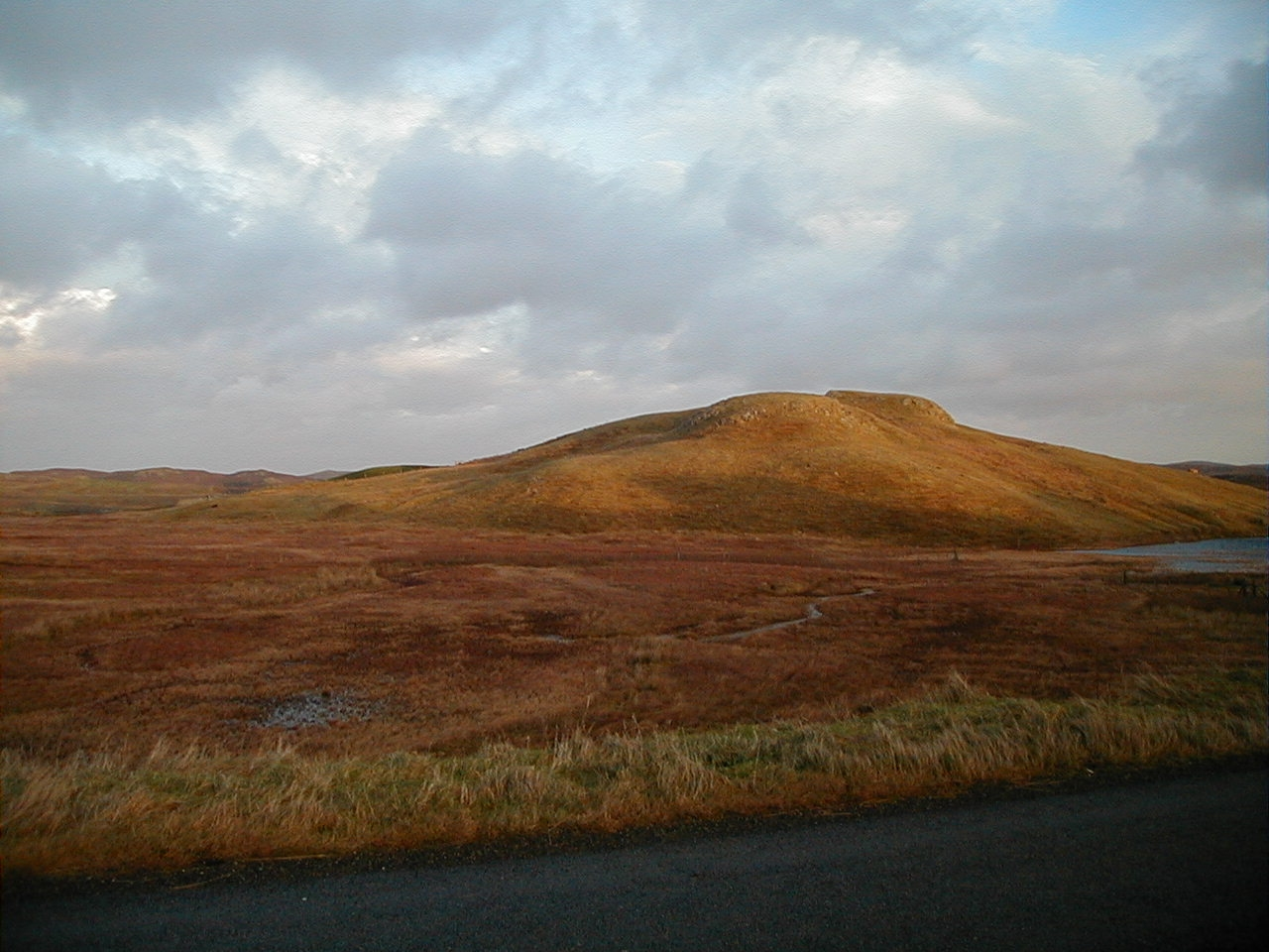 Hill in Habost