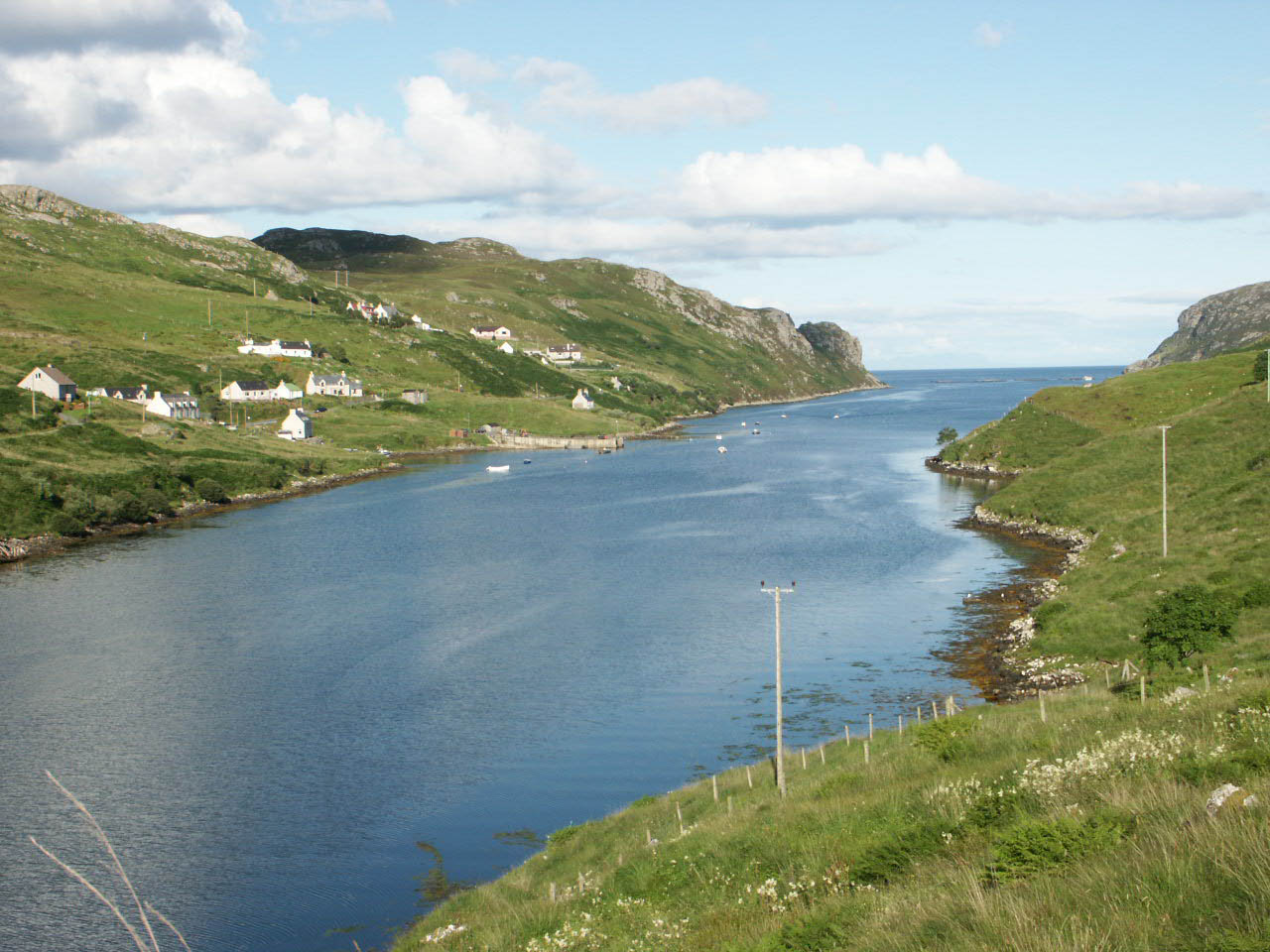 Loch Odhairn, Gravir