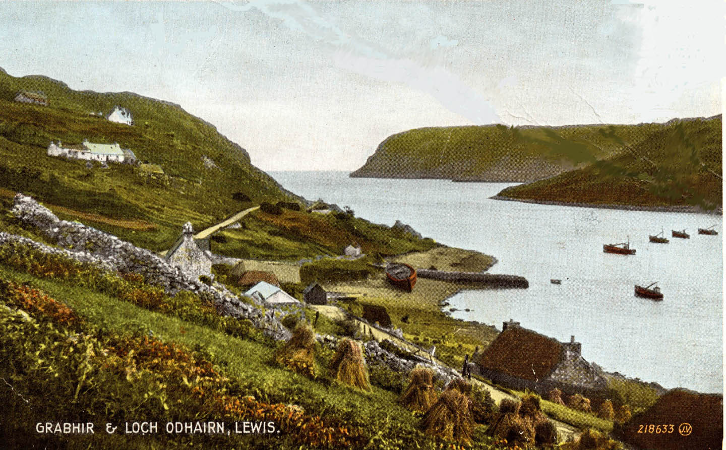 Old Postcard of Loch Odhairn