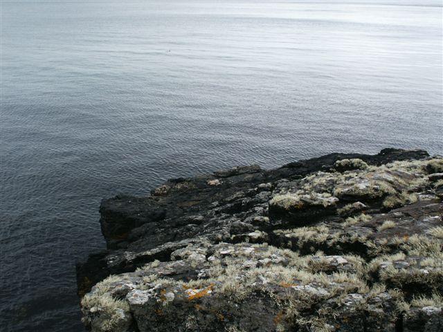 Rock at Mol Stiogh Achragain